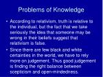 problems of knowledge2