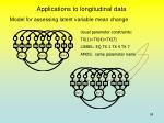 applications to longitudinal data2