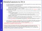 detailed answers to 24 a
