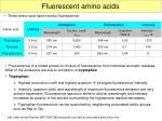 fluorescent amino acids