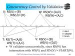 concurrency control by validation13