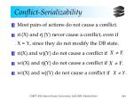 conflict serializability1