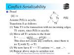 conflict serializability11