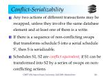conflict serializability3