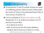 conflict serializability5