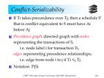 conflict serializability6