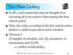 two phase locking3