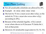 two phase locking6