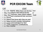 pcr excon team