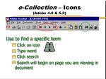 e collection icons adobe 4 0 5 01