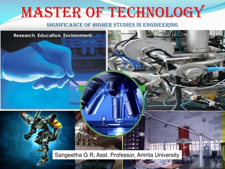 master of technology significance of higher studies in engineering n.
