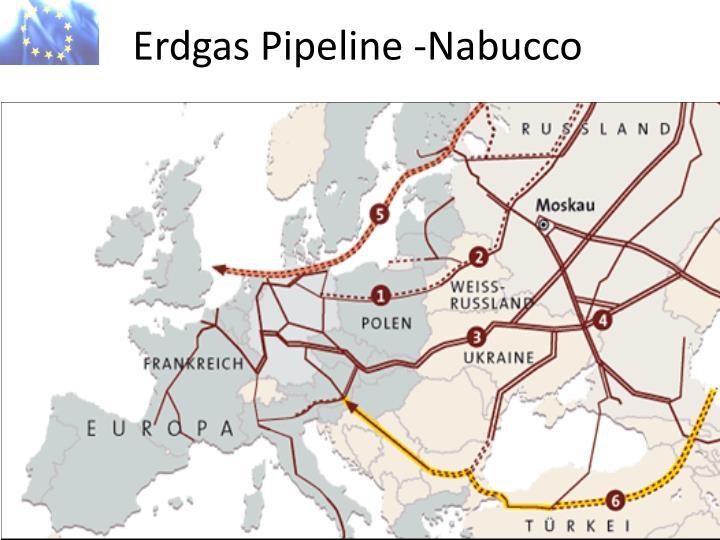 Erdgas Pipeline -Nabucco