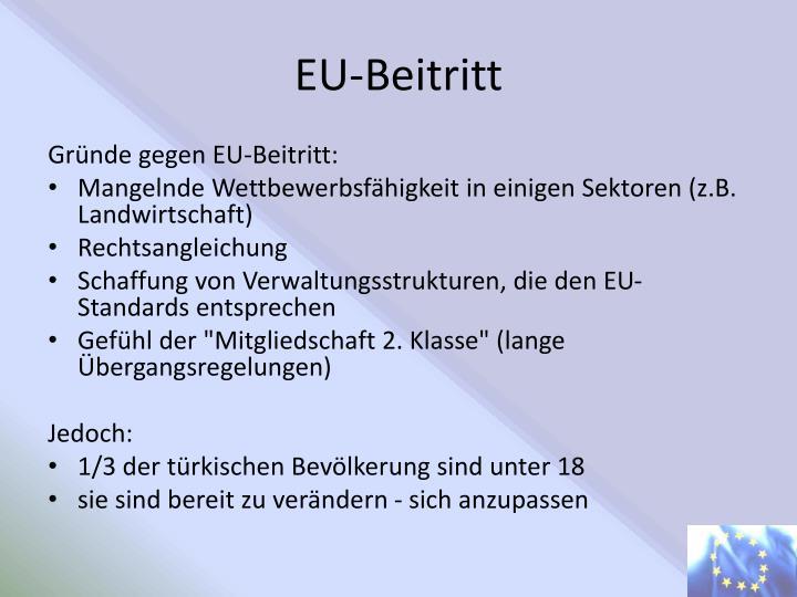 EU-Beitritt