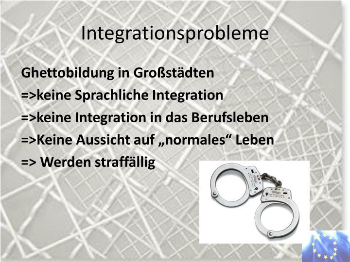 Integrationsprobleme