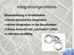 integrationsprobleme