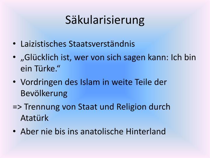 Säkularisierung