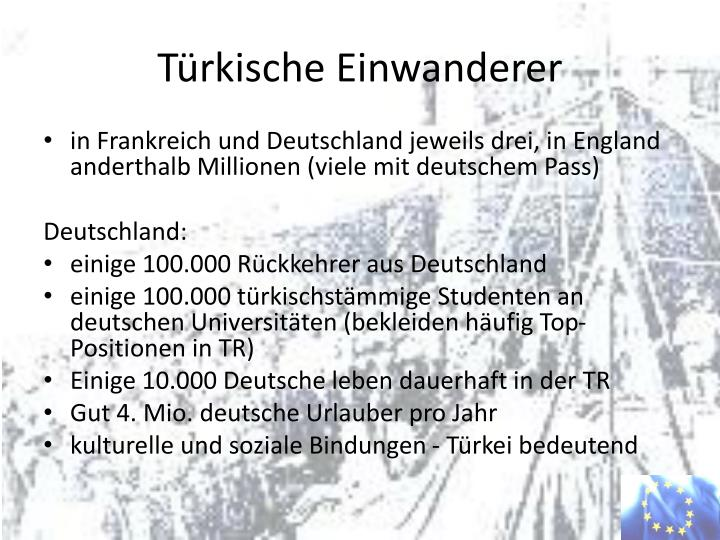 Türkische Einwanderer
