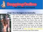 find n ew swingers in australia