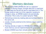 memory devices1