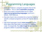 programming languages2