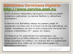bibliotheca corviniana digitalis http www corvina oszk hu