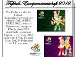 fu ball europameisterschaft 20121