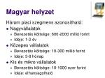 magyar helyzet