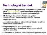 technol giai trendek