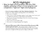 acg highlight