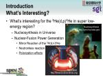 introduction what s interesting