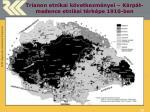 trianon etnikai k vetkezm nyei k rp t medence etnikai t rk pe 1910 ben