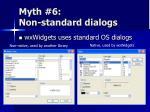 myth 6 non standard dialogs
