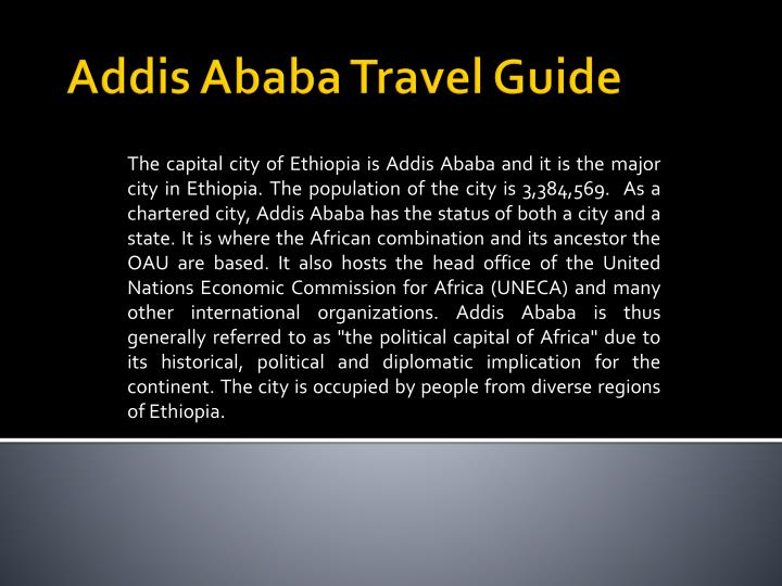 addis ababa travel guide n.