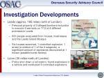 investigation developments1