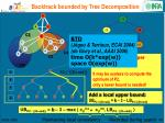 backtrack bounded by tree decomposition