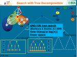 search with tree decomposition1