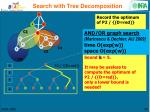 search with tree decomposition3