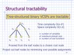 structural tractability