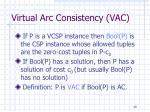 virtual arc consistency vac