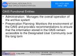 oais functional entities1