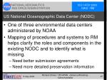 us national oceanographic data center nodc