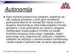 autonomija