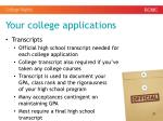 your college applications3