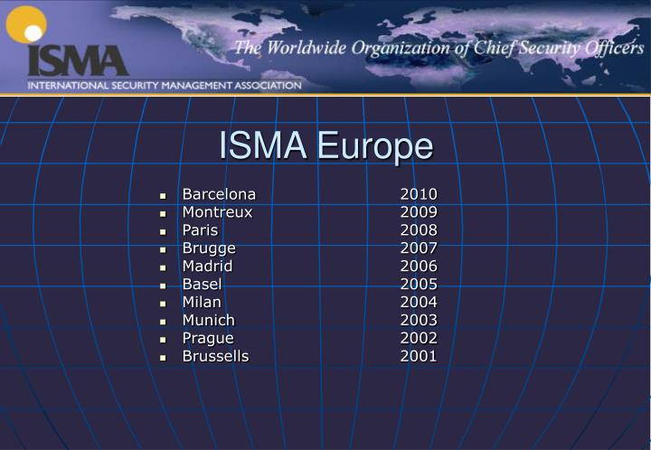 ISMA Europe
