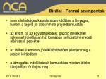 b r lat formai szempontok