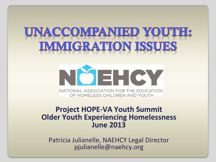unaccompanied youth immigration issues n.