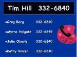 tim hill 332 4840