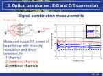 3 optical beamformer e o and o e conversion12