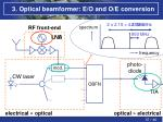 3 optical beamformer e o and o e conversion4