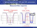 3 optical beamformer e o and o e conversion8